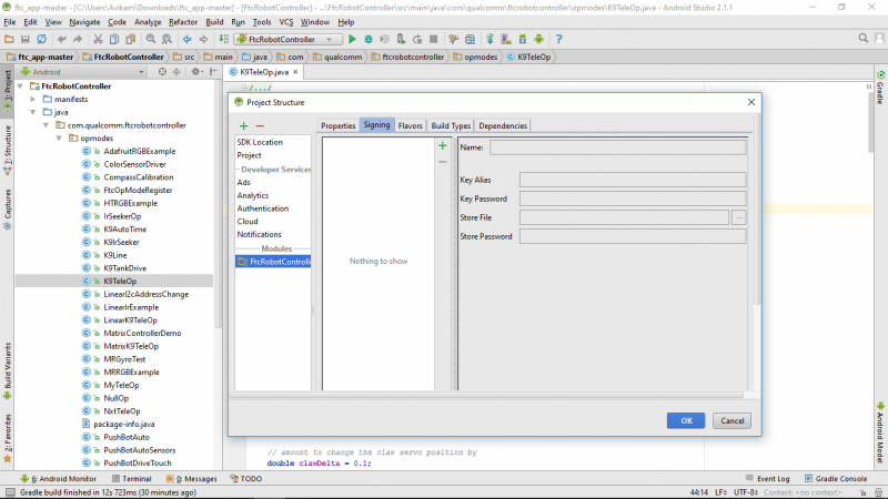 Setting Up Android Studio for First Tech Challenge – Innov8rz